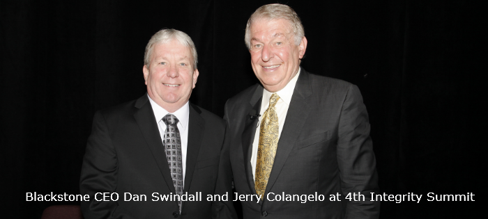 C-Level CEOs of the Year Dan Swindall and Jerry Colangelo at 4th Annual Integrity Summit